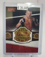 2011 Topps UFC Title Shot Replica Championship Belts #CB-CL Chuck Liddell