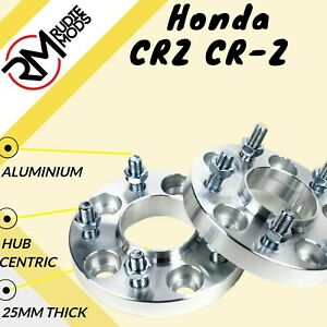 Honda CRZ CR-Z 5x114.3 64.1 25mm Hubcentric wheel spacers 1 pair UK made