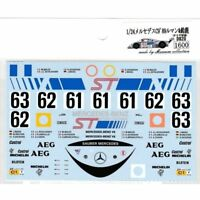 Museum Collection 1/24 Mercedes C9 Sauber '89 Le Mans & Suzuka Decal D820