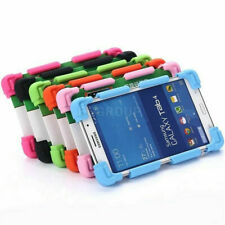 """Safe Soft Silicone Stand Case Cover For Samsung Galaxy Tab 2/3/S2 7.0"""" 8.0""""Table"""