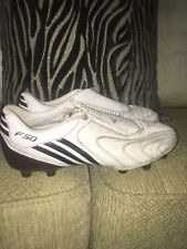 Adidas F50 Tunit Leather White Messi Adizero 7.5uk