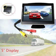 5'' Truck HD LCD Screen Monitor+5W Reversing Camera Backup Waterproof For RV Kit