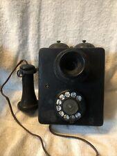 Rare Wall Telephone 1920's All Original