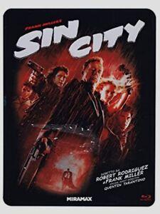 SIN CITY- bluray  - edizione limitata steelbook - 3 dischi