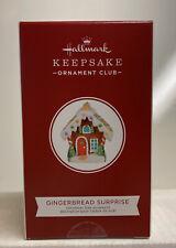 2020 Hallmark Keepsake Gingerbread Surprise Blind Box Club Exclusive Ornament