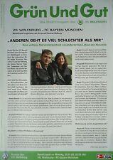 Programm 20.1.2003 VfL Wolfsburg - Bayern München