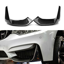 3D Style Carbon Fiber Front Lip Bumper Splitter for BMW F80 M3 F82 M4 F83 M4 14+