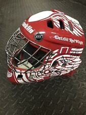 2008 STANLEY CUP CHAMPIONS DETROIT RED WINGS TEAM SIGNED F/S GOALIE MASK COA