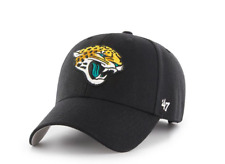 buy popular 8ace5 9aea9 NFL Jacksonville Jaguars Adult OSFM  47 Brand MVP Adjustable Hat