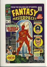 FANTASY MASTERPIECES 9   RAW VF  Original ORIGIN of the HUMAN TORCH  (from 1939)