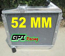 52MM  FOR RENAULT 5 SUPER 5/R5 9/11 GT TURBO MT 1985-1991 ALUMINUM  RADIATOR