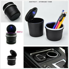 Universal Portable Plastic Ashtray Ash Tray Storage Cup For Car Auto SUV Vehicle