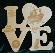 The Nightmare Before Christmas Jack Love Sign