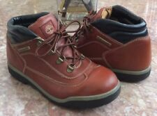 Timberland Field Kid's Brown Brown Leather Hiker Boots Size 5M #15912 6456 EUC