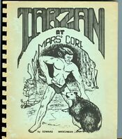 TARZAN At MARS CORE * by EDWARD HIRSCHMAN * 1 of 2000 made * FIRST EDITION novel