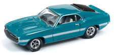 1/64 JOHNNY LIGHTNING MUSCLE CARS 1969 Shelby GT500 Mustang in Grabber Green wit
