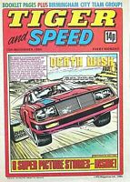 TIGER & SPEED - 3rd MERGER ISSUE !! 15th NOVEMBER 1980 - VERY RARE ISSUE 3 !! FN