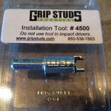 Grip Studs ATV UTV Tire Studs, #4500 Stud Installation Tool for Stud 1500