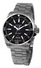Gucci Dive Large 200M Black Matte Dial 40MM Steel Quartz Men Watch YA136301 New