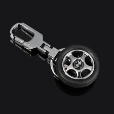 Car LOGO Wheel Keychain Keyring Key Holder Ring Metal Alloy Pendant For BMW Gift