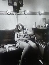 Janis Joplin with a bottle of Southern Comfort (1968) - Mini Photo Poster
