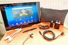 Sony Tablet Xperia Z2 16GB Black I XXL EXTRAS I 10 Zoll FullHD l WLAN Android