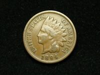 SUMMER SALE!!  VF 1894 INDIAN HEAD CENT PENNY w/DIAMONDS & PARTIAL LIBERTY #40x