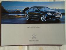 Mercedes C Class Saloon brochure Jul 2004