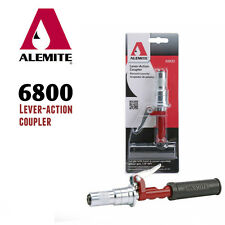 """Alemite 6800 Lever-Action Coupler for Hand/Power-operated Grease Guns 1/8"""" NPT"""