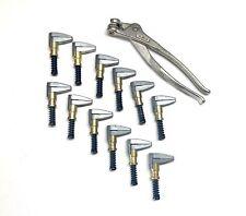 Mint 13 Pc Cleco 1 Edge Clamp Set Aircraft Tools