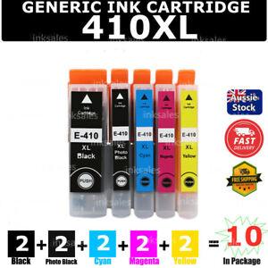 10 Generic 410XL 410 XL ink cartridge for Epson XP-530 XP-540 XP-630 XP640 XP900