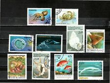 Liquidation - Marine Life - All Diff. Stamps - Only Start $0.01 (X1582 )
