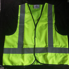 1x High Visibility Work Safety Vest Fluro Yellow. Size = SMALL  $6.99 ea