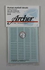 Archer (1/32 1/35 54mm - 150mm) Human Eyeball Decals No.1 (200 Figures) AR99001
