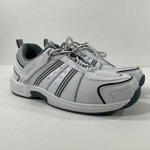 Men's Orthofeet BioFit 610 Athletic Shoes Size 13 2E Wide - Great Condition