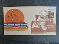 1988 THE GREAT RACE CACHET TRAIN COVER ADELAIDE 624 vs 3801