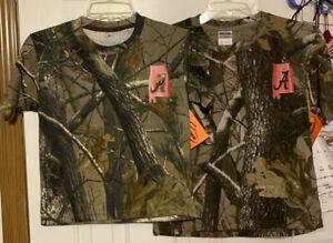 Youth Team Realtree Hardwoods or AP HD S/S Alabama T-Shirt Size Small & Medium