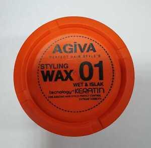 AGIVA HAIR STYLING WAX WET LOOK + KERATIN NO:1 BARBER SALON PROFESSIONAL USE