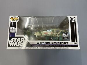 Funko Pop! Star Wars: A Lesson In The Force: 2020 Galactic Convention Exclusive
