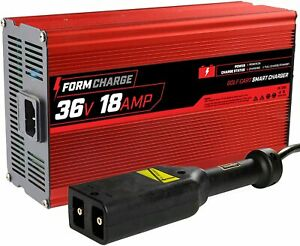 "Form 18 AMP EZGO TXT Golf Cart Battery Charger for 36 Volt  -""D"" style plug"