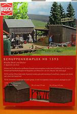 Busch 1595 Schuppenkomplex Spur H0