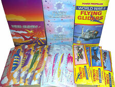 Dinosaur / Fairy / WWII Flying Glider Planes Ideal Party Bag Fillers - BULK BUY