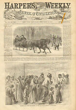 Whiskey, Rum, Evading The Excise Law, Buying Rum, Vintage, 1867 Antique Print,