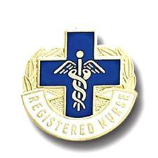 RN Registered Nurse Pin Blue Cross Medical Insignia Emblem Graduation 963 New