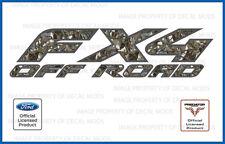 2005 - 2008 Ford FX4 Off Road Predator Camo Deception 3D Decals Stickers 4x4 set