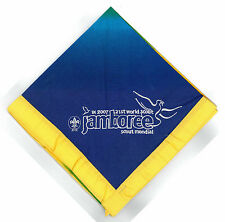 2007 World Scout Jamboree YOUTH PARTICIPANTS (YELLOW) Neckerchief (N/C) / Scarf