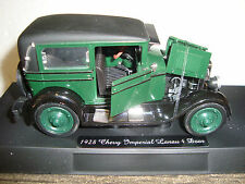 Newray  G-SCALE 1/32 1928 Chevy Imperial Lanau 4 Door Diecast & Detailed NEW