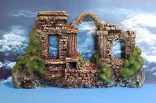 Aquarium Decoration - Stone Wall Ruins, One-sided