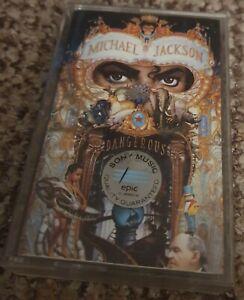 Michael Jackson - Dangerous - Cassette Tape