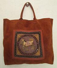 Original sac à main  SHOPPING -  MIRO  en daim TBEG  bag vintage à saisir